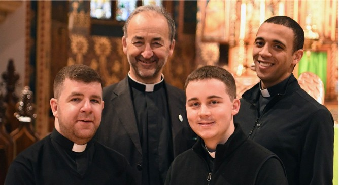Four Priests to be