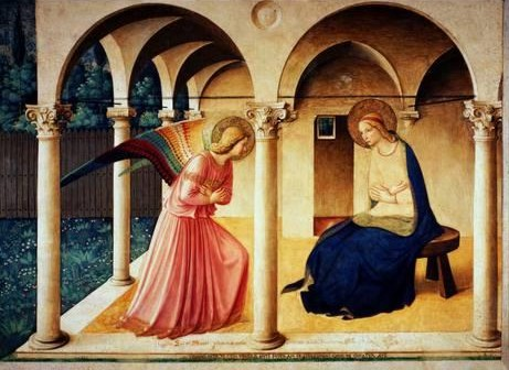 Fra Angelico's Annunciation