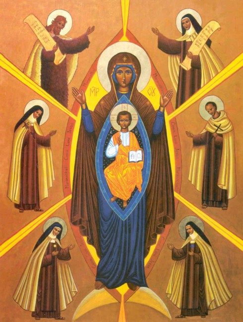 Icon of Carmelite Saints