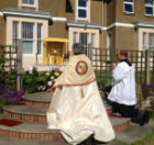 Incensing of the Blessed Sacrament during Benediction after Corpus Christi procession