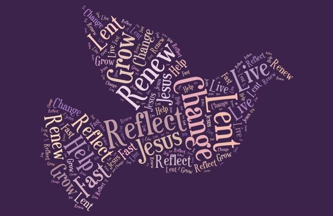 Word Image of Lent