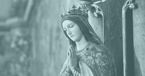 Re-dedication of England as 'The Dowry of Mary'
