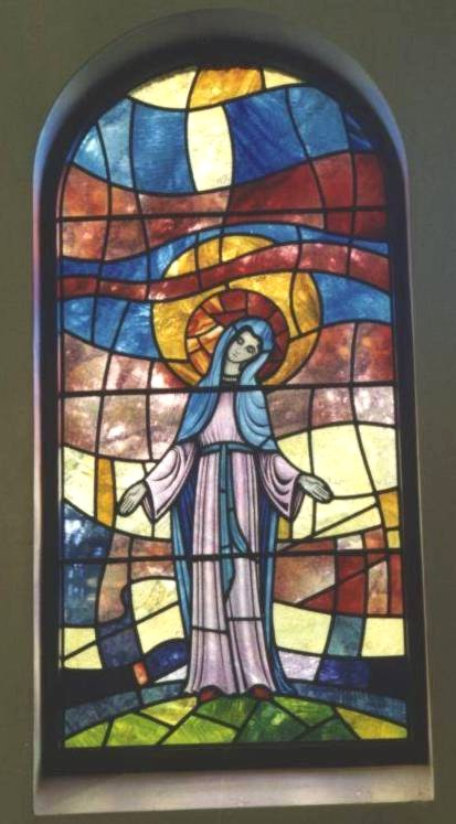 Our Lady's sanctuary window