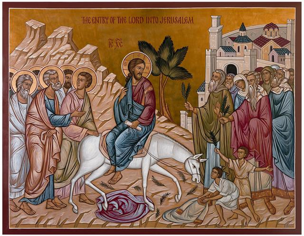 The Entry of the Lord into Jerusalem on Palm Sunday