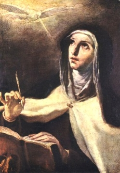 St. Teresa of Jesus, our Holy Mother Foundress