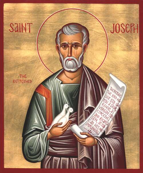 St Joseph, the Betrothed